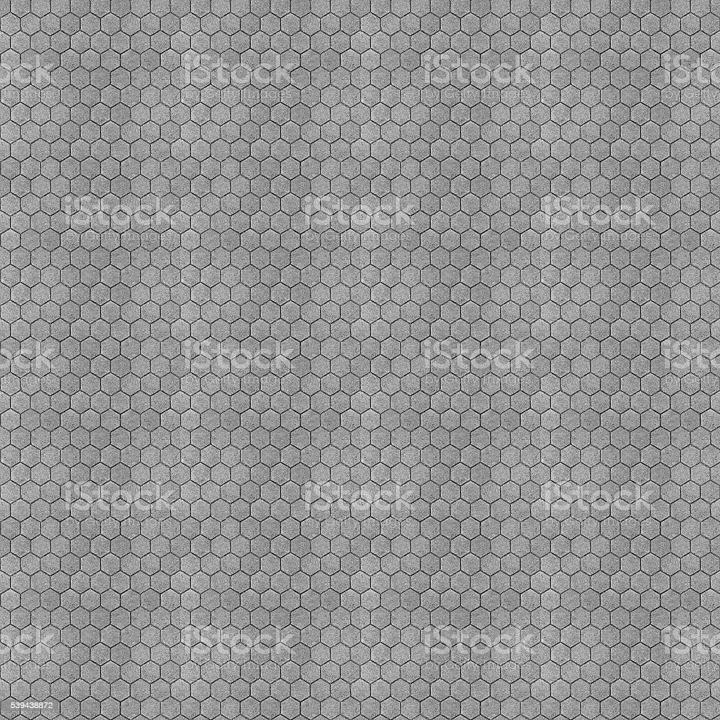 Seamless Hex Bricks Texture (1:1 Format) stock photo