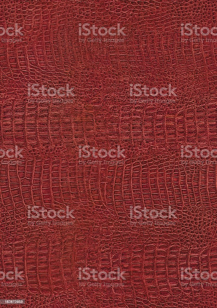 Crocodile Tile seamless hires crocodile skin red texture tile stock photo