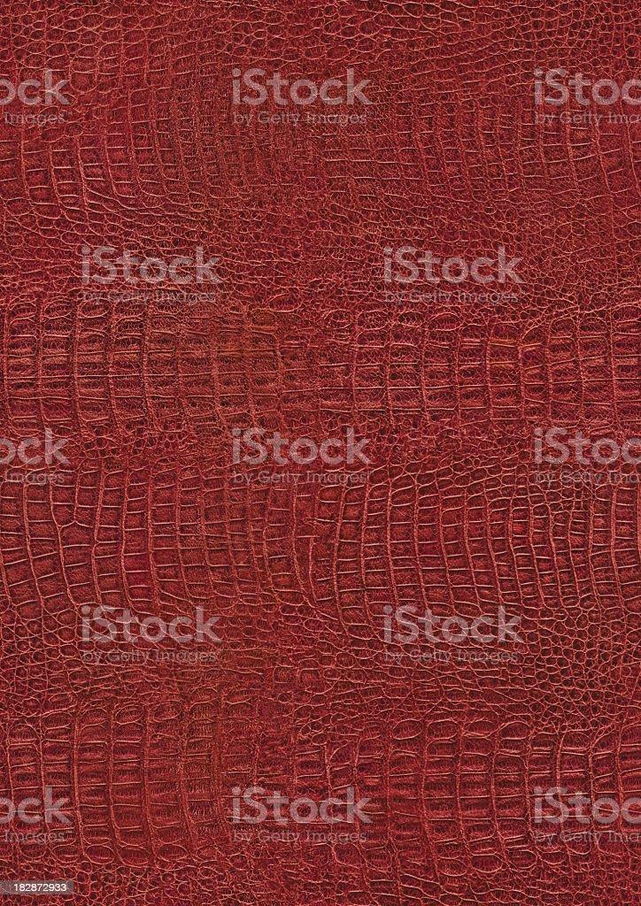 Crocodile Tile seamless hires crocodile skin red texture tile stock photo