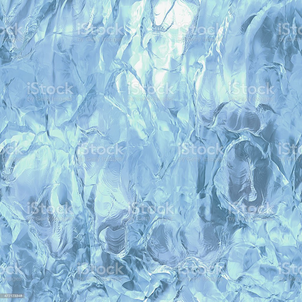 Seamless ice texture, abstract winter background stock photo