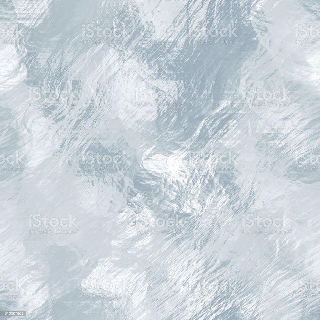 Seamless ice texture, winter background stock photo