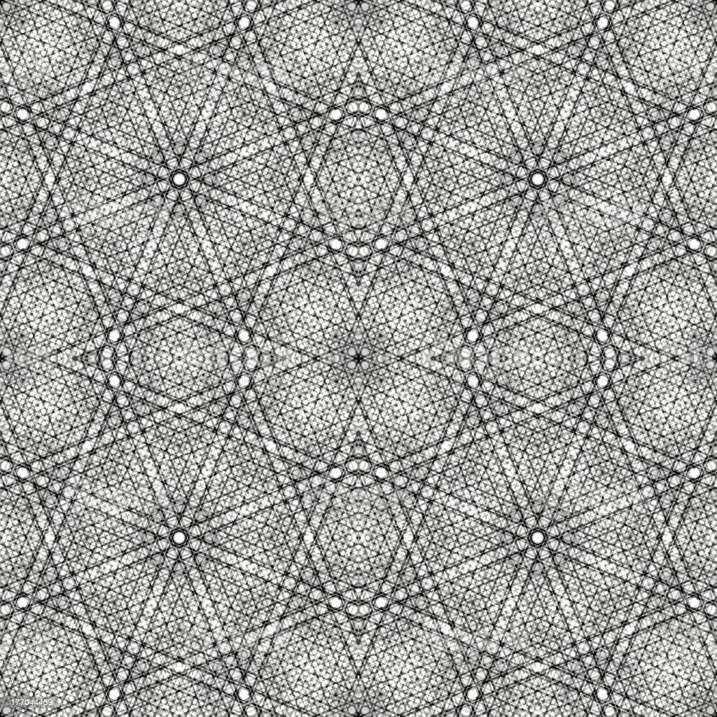 Seamless line pattern, aged floor tiles stock photo