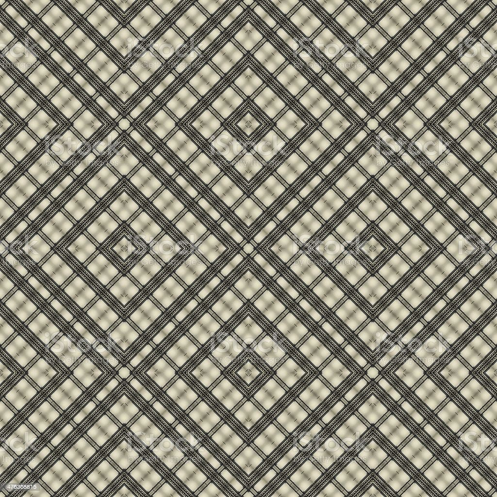 Seamless line pattern, aged floor tiles royalty-free stock photo