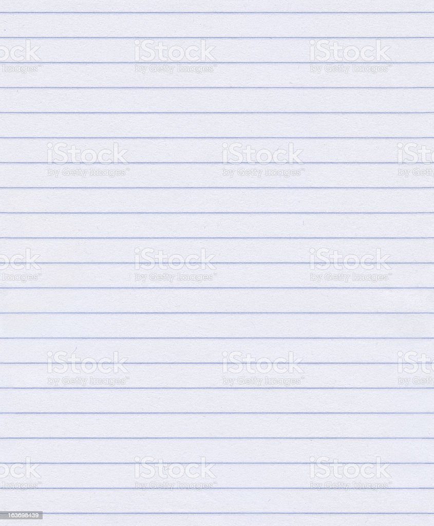 Seamless lined paper background stock photo