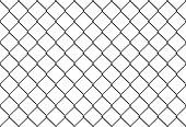 seamless metal mesh fence