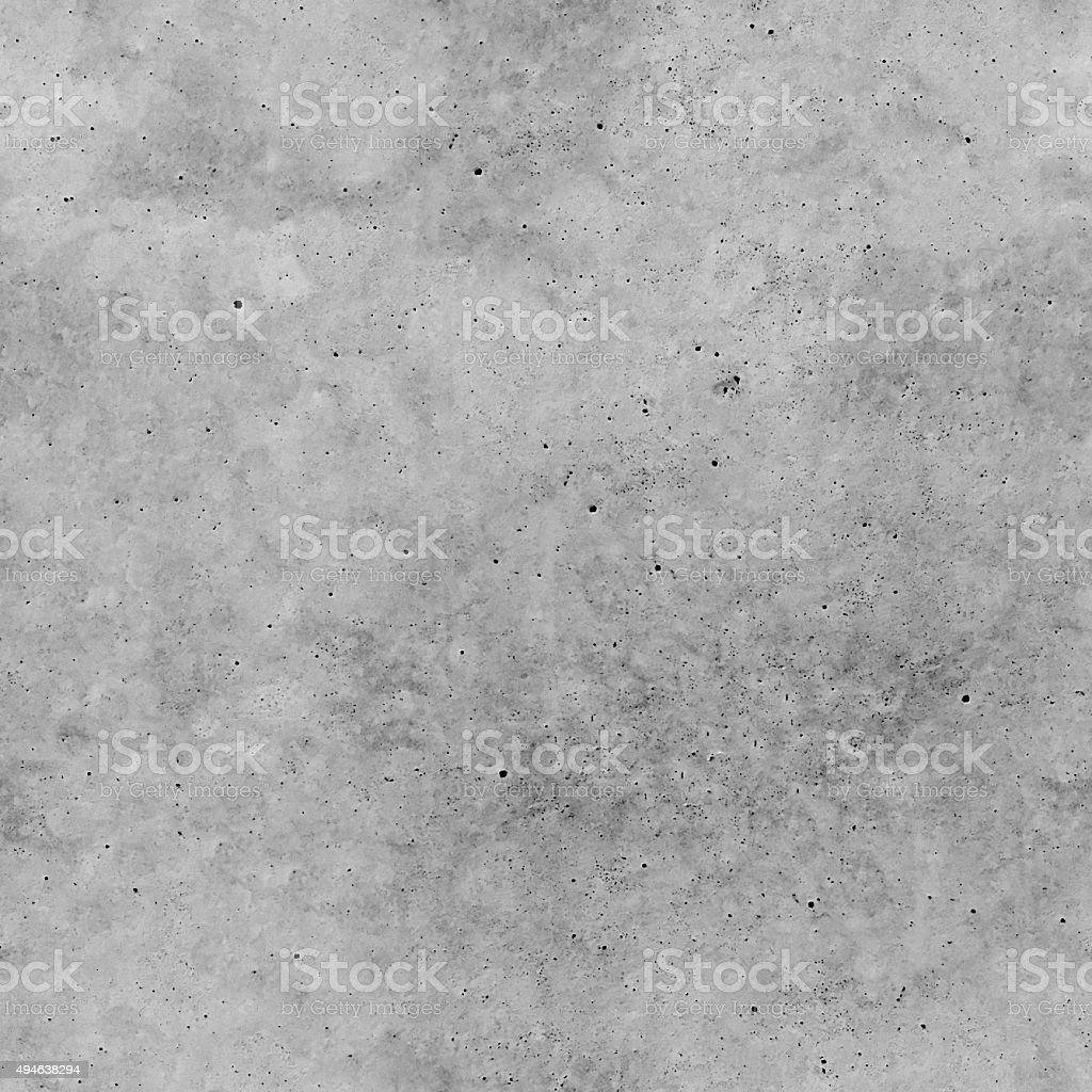 Seamless natural hand made imperfect polished concrete texture background stock photo