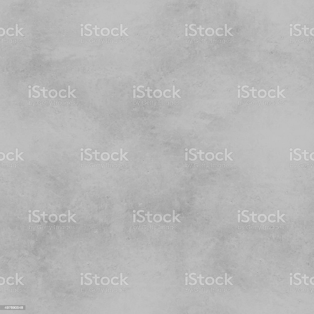 Seamless painted blurred fuzzy light gray concrete wall texture pattern stock photo