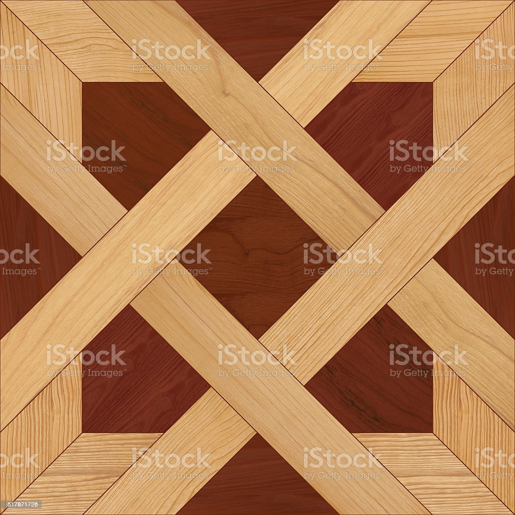 Seamless parquet texture. stock photo
