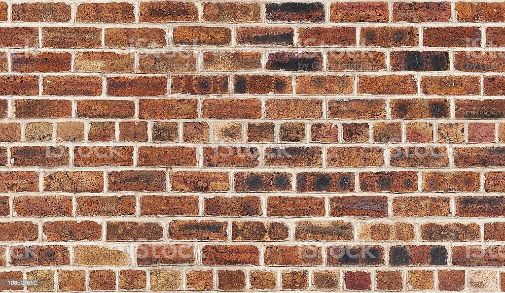 Seamless Pattern of Old Brick Wall royalty-free stock photo