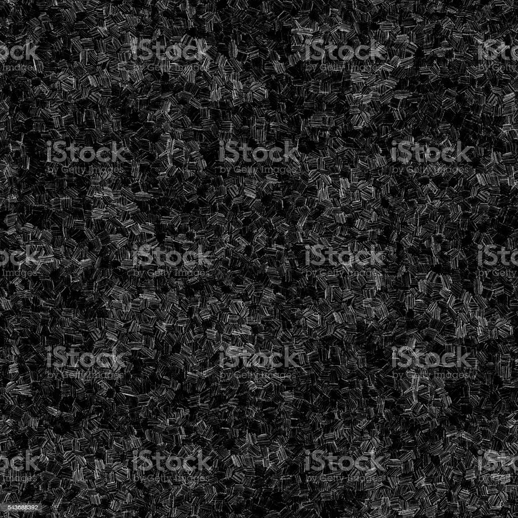 Seamless polygonal geometric three-dimensional messy lined black tile pattern stock photo