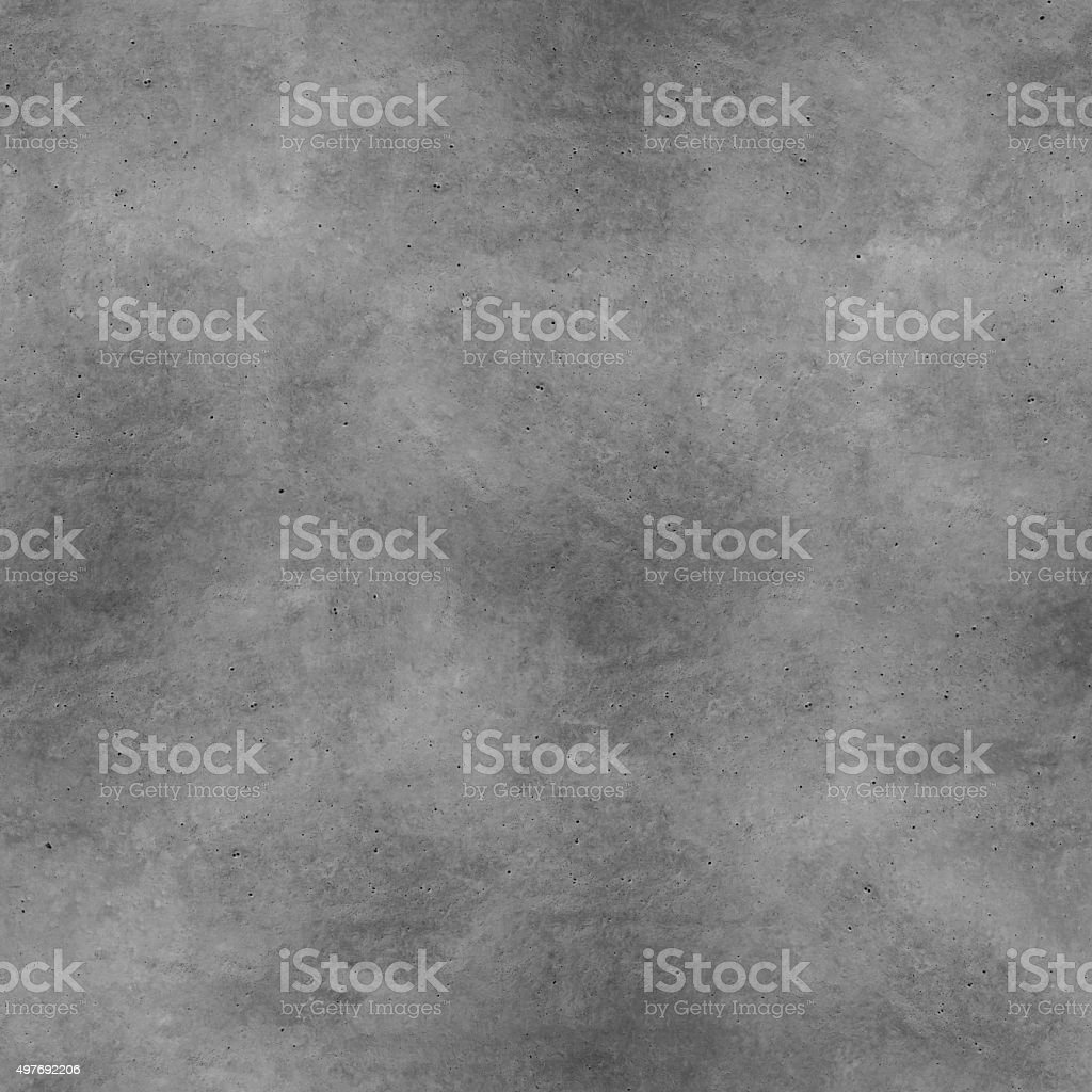 Seamless raw natural concrete stone - realistic construction material texture stock photo