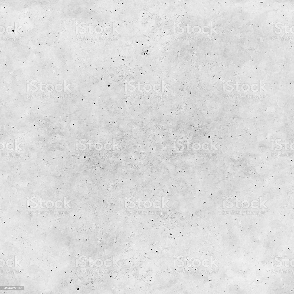 Seamless realistic polluted square light gray concrete wall texture background stock photo