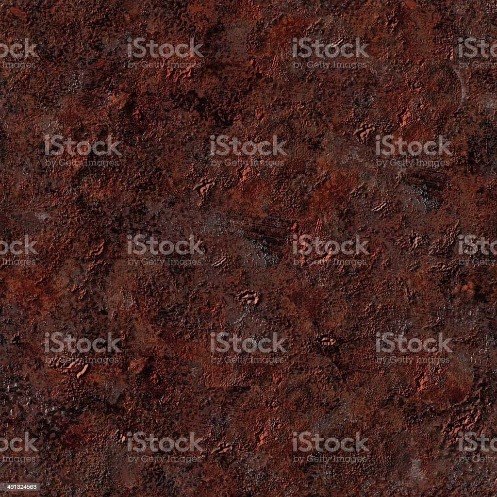 Seamless Repeatable Rust Corrosion royalty-free stock photo