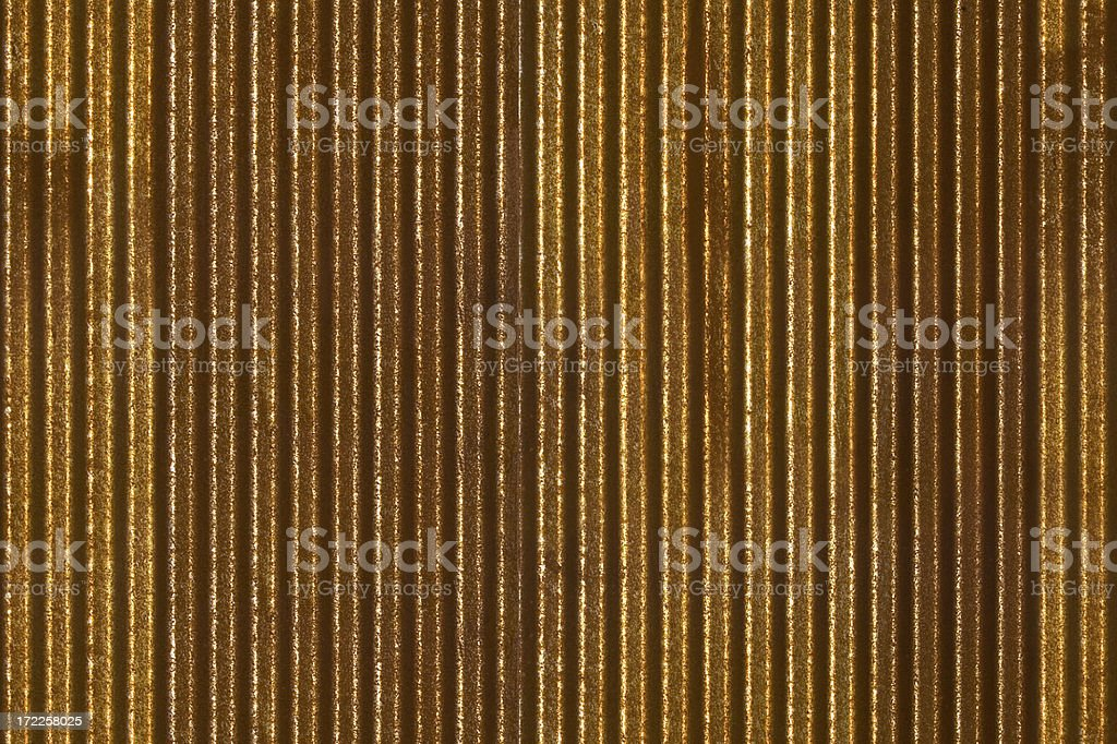 Seamless Repeating Background - rusty corrugated metal siding royalty-free stock photo