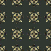 Seamless repeating geometric pattern background