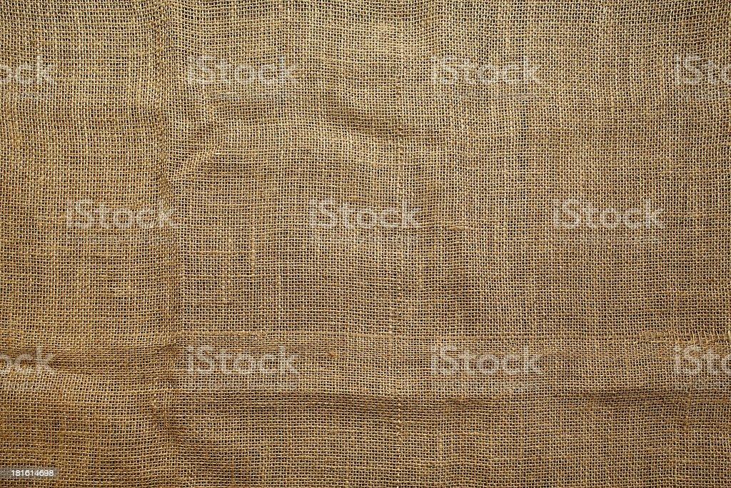 Seamless sackcloth texture stock photo