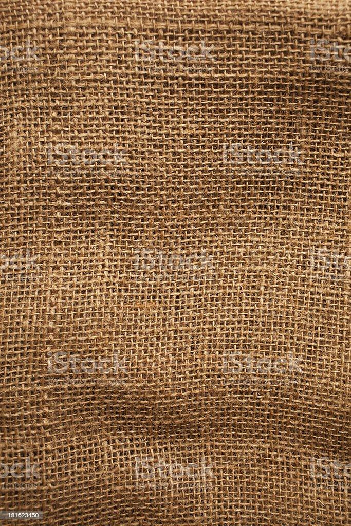 Seamless sackcloth texture royalty-free stock photo