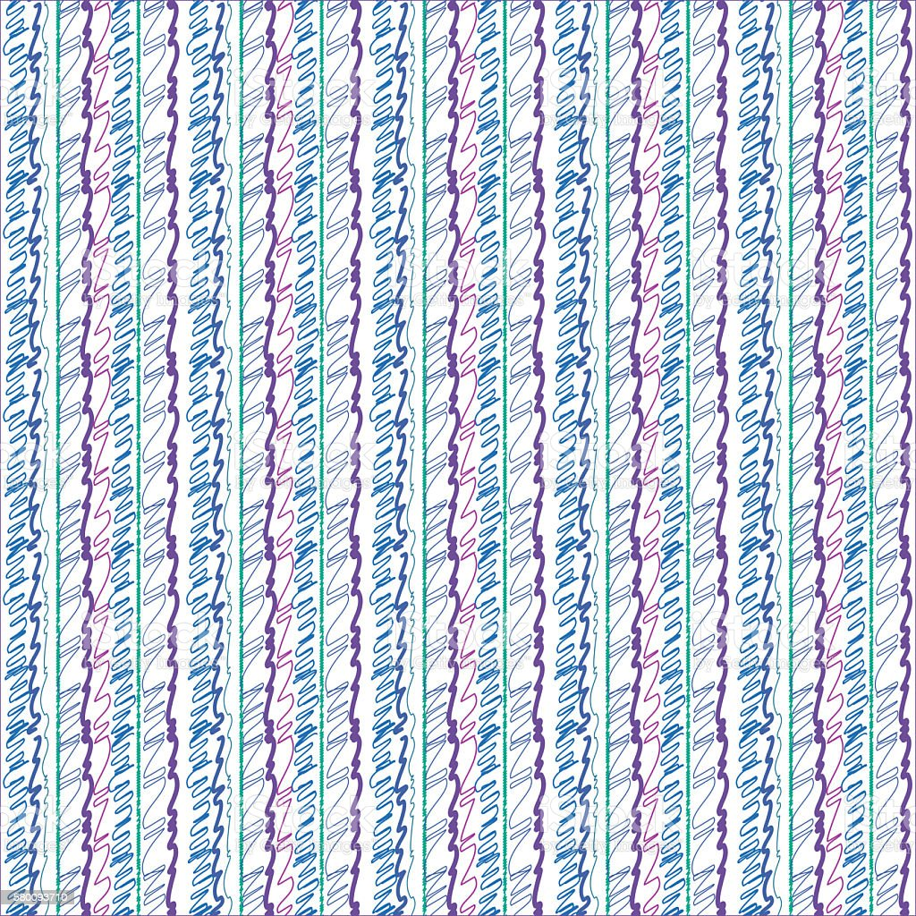 Seamless scribbled striped pattern background stock photo