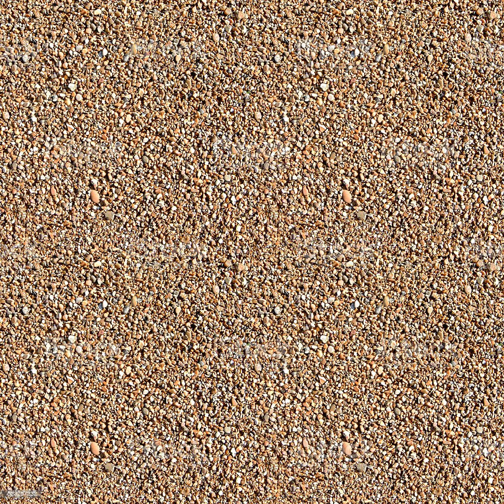 Seamless Small Pebble Texture (1:1 Format) stock photo