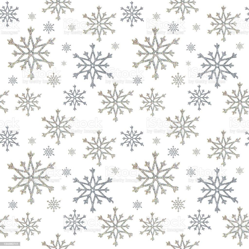 seamless snowflakes royalty-free stock photo