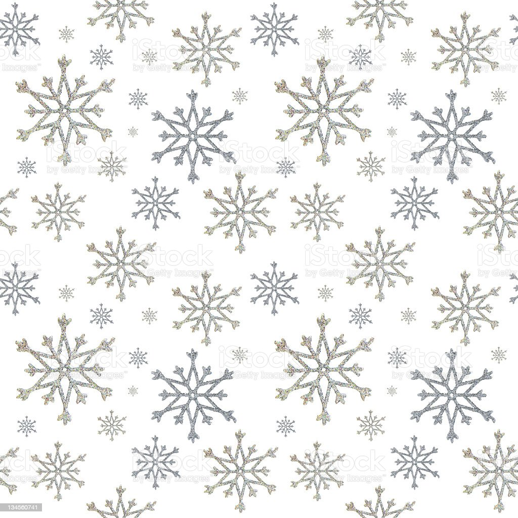 seamless snowflakes stock photo
