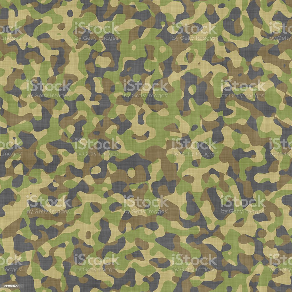 Seamless soldier camouflage texture stock photo
