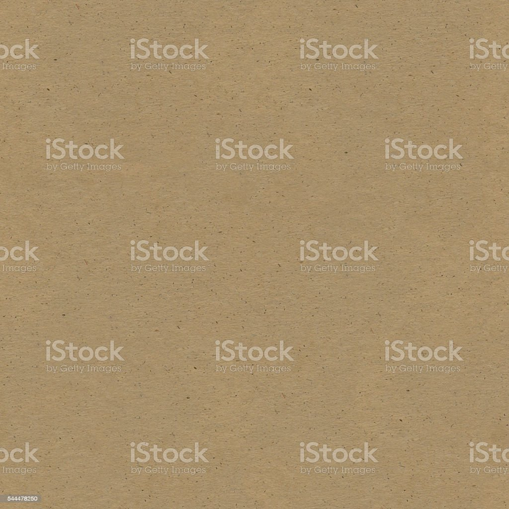 Seamless square raw hight detailed brown texture of corrugated cardboard stock photo