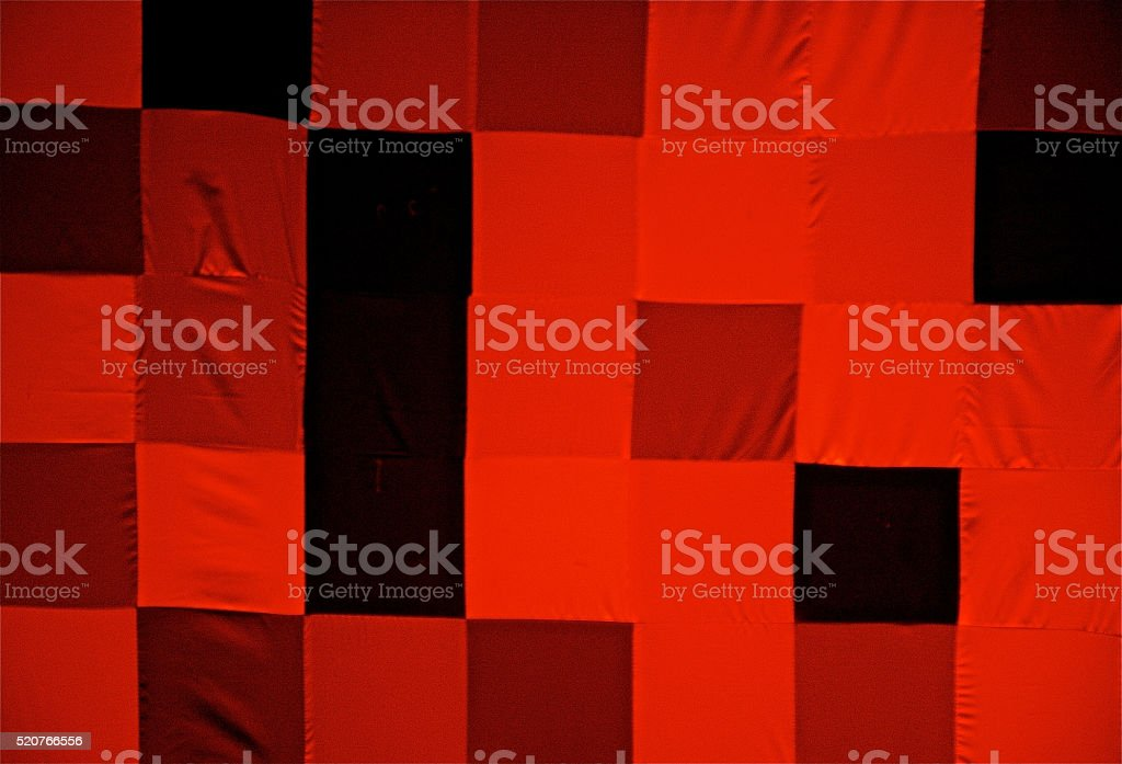 Seamless Squared Tablecloth Gingham Cotton Fabric Background stock photo