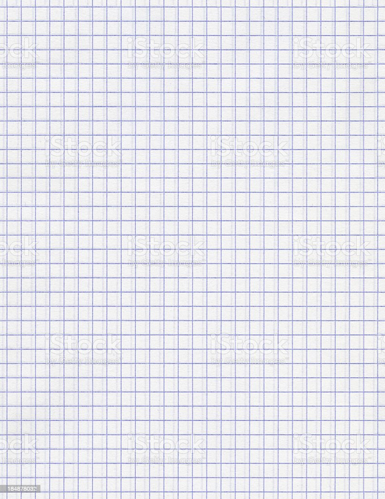 Seamless squared white paper background stock photo