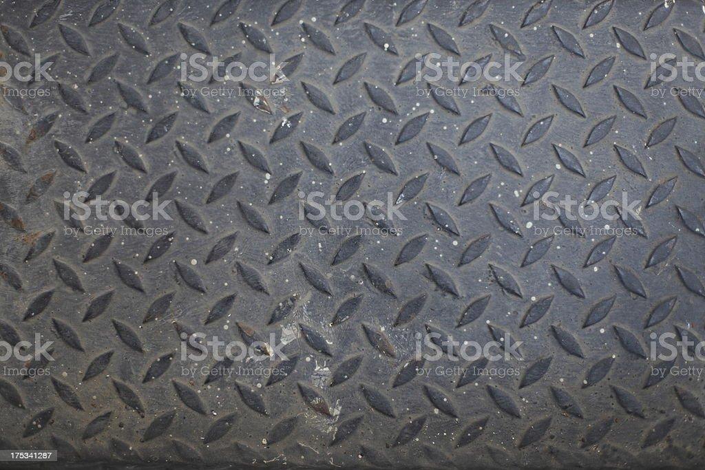Seamless steel diamond plate texture royalty-free stock photo