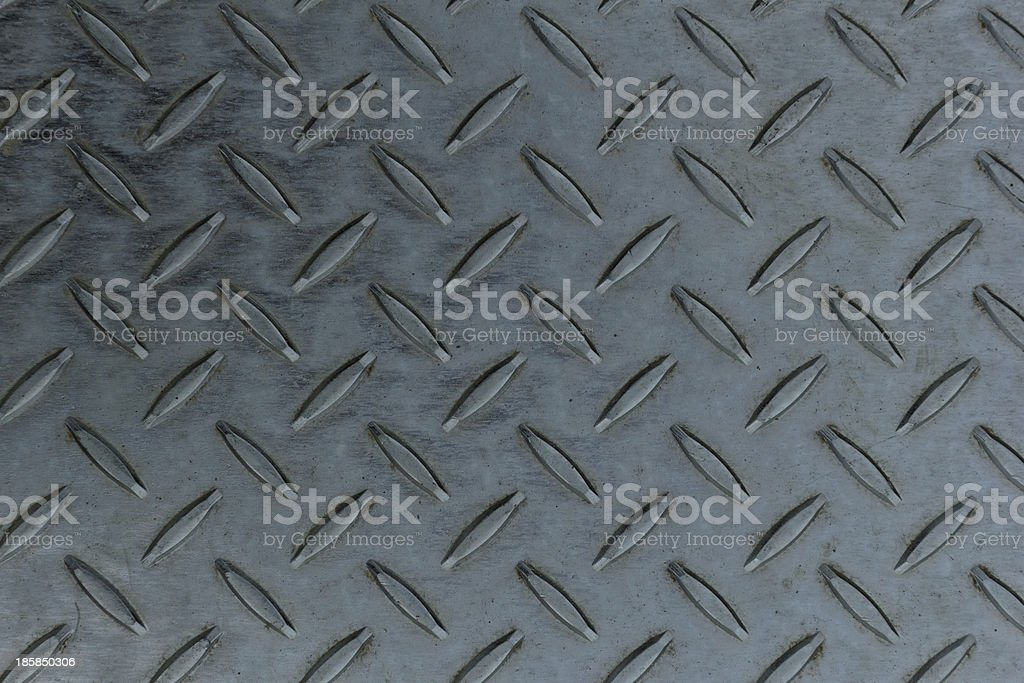 Seamless steel diamond plate texture royalty-free stock photo