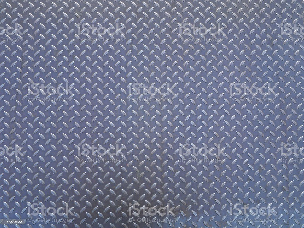 Seamless steel diamond plate vector royalty-free stock photo
