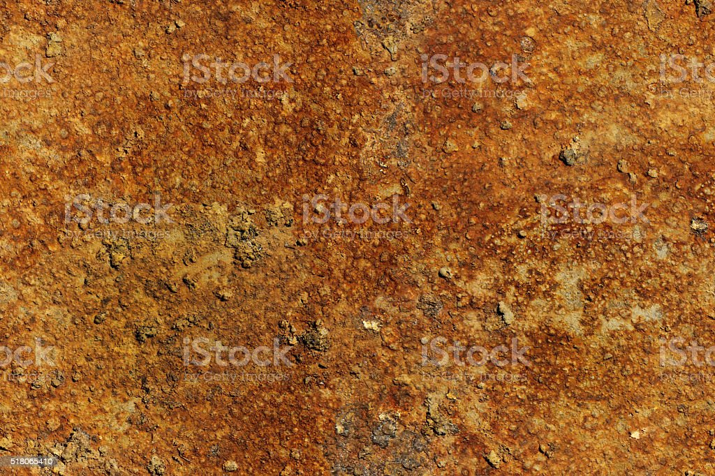 Seamless texture of rusty metal plate stock photo
