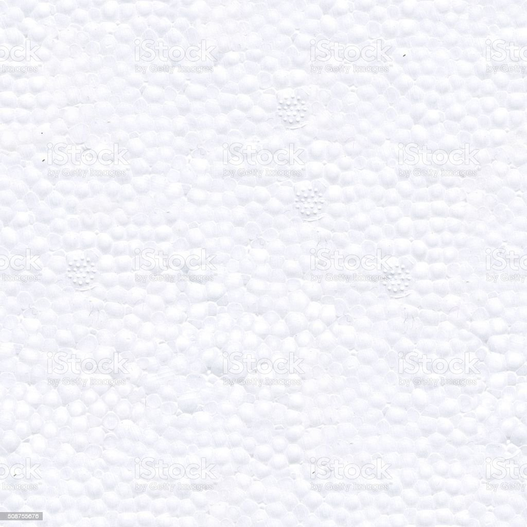 Seamless texture of styrofoam stock photo