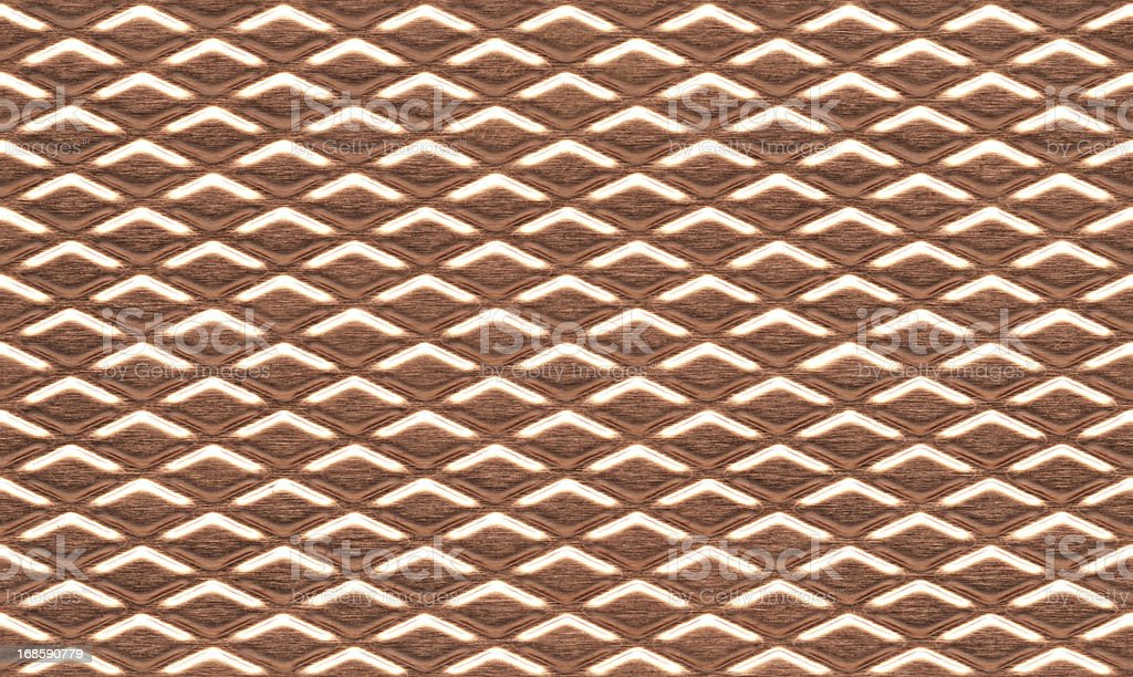 Seamless textured copper background royalty-free stock photo