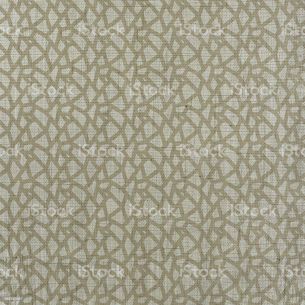 seamless textured natural cotton textile royalty-free stock photo
