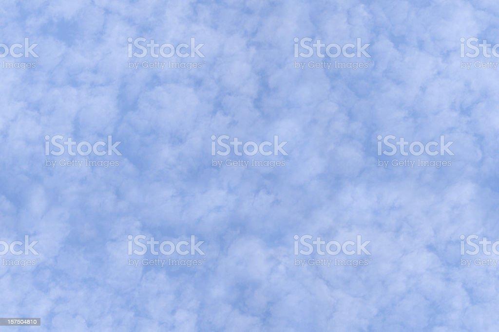 Seamless Tile - Cirrocumulus Clouds stock photo