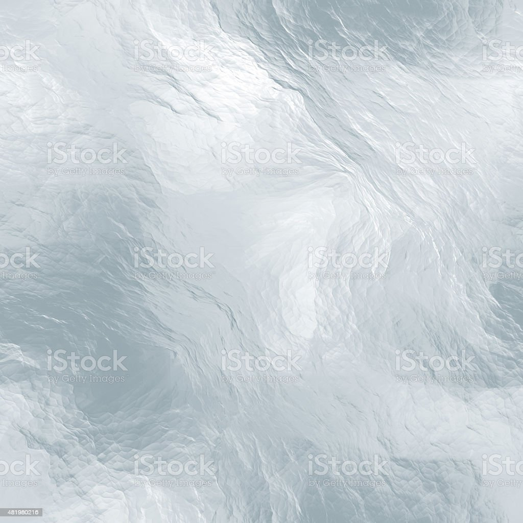 Seamless tileable ice texture. Frozen water. Abstract realistic patterned winter stock photo