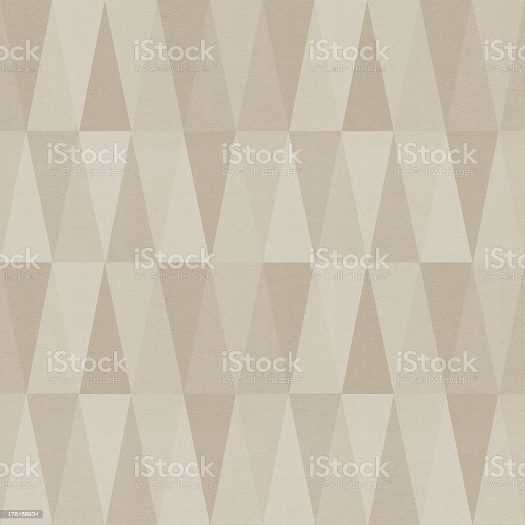 Seamless triangle patten stock photo