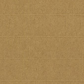 Seamless warm brown corrugated eco paper texture in vertical lines