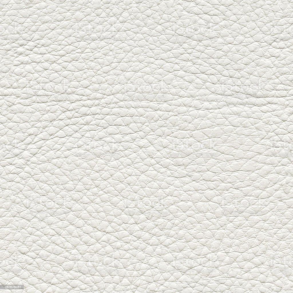 Seamless white leather background stock photo