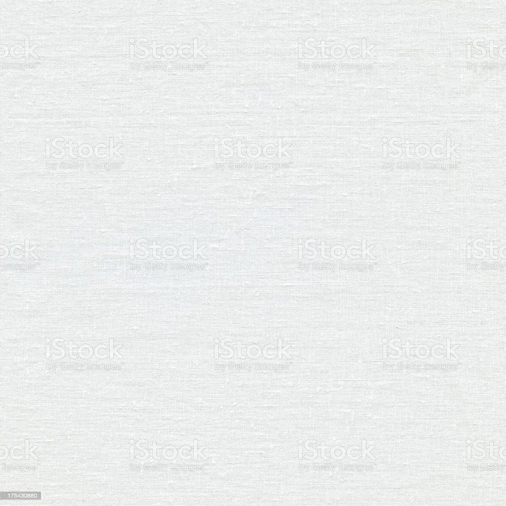 Seamless white linen canvas background stock photo