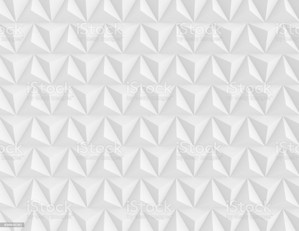 Seamless white pattern background  3d render stock photo