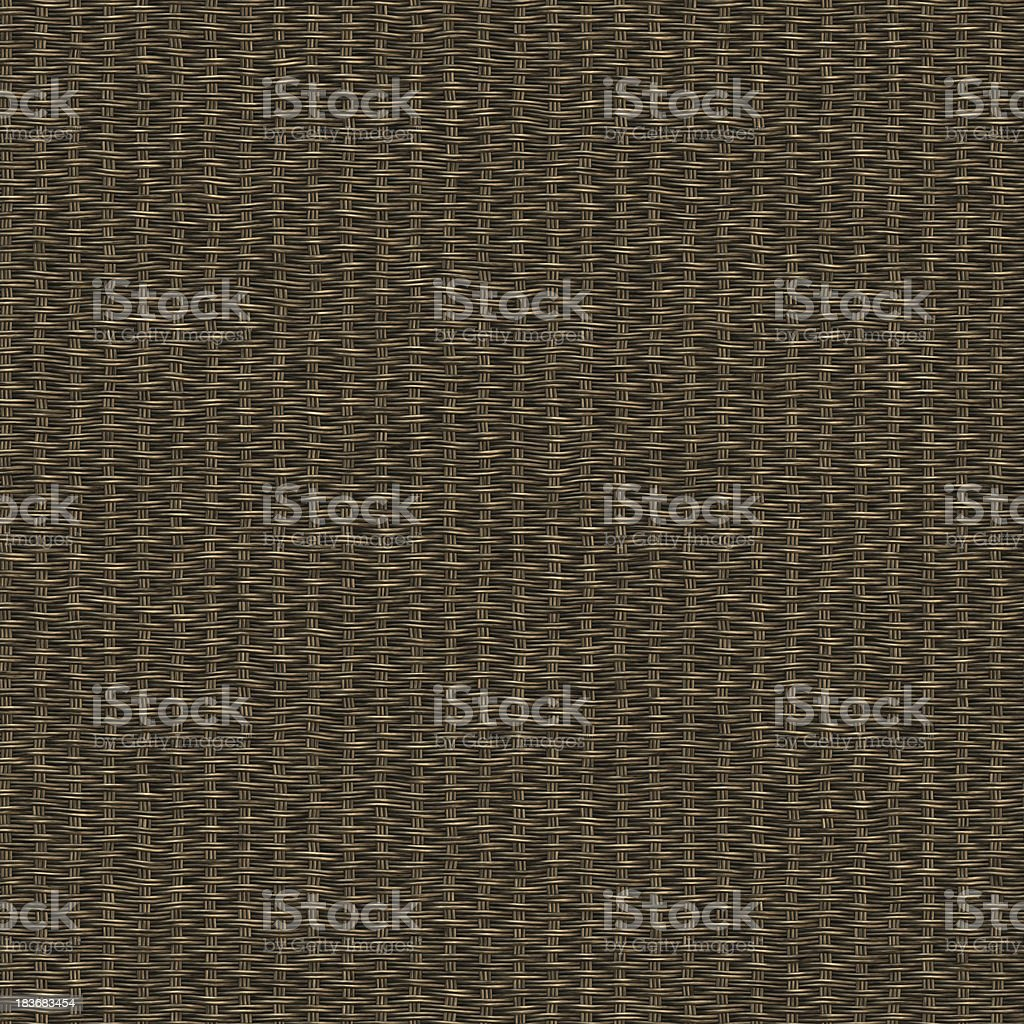 Seamless woven twill wooden macro stock photo