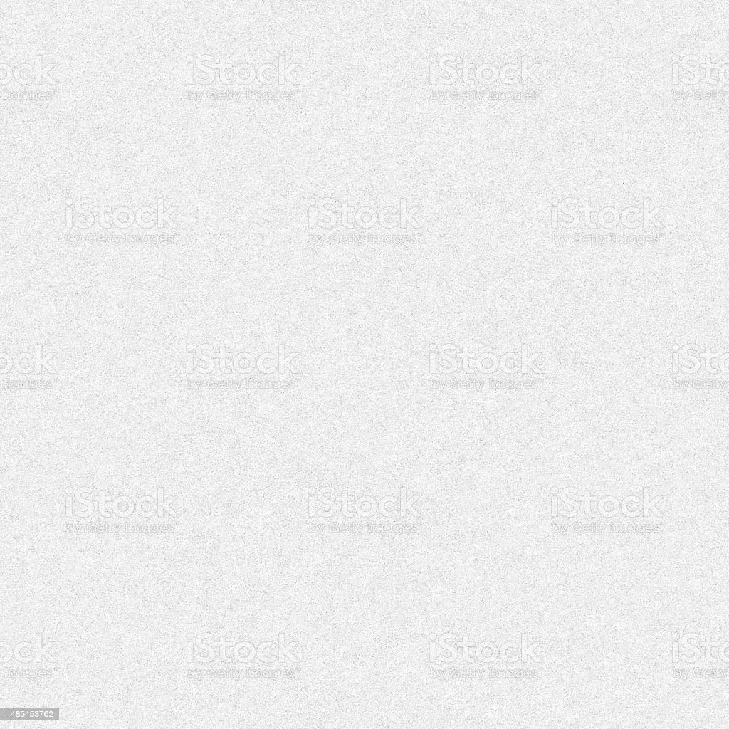 Seamless wrinkled uneven white concrete wall surface - pattern background stock photo