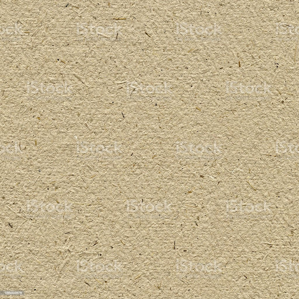 Seamless yellow craft paper background royalty-free stock photo