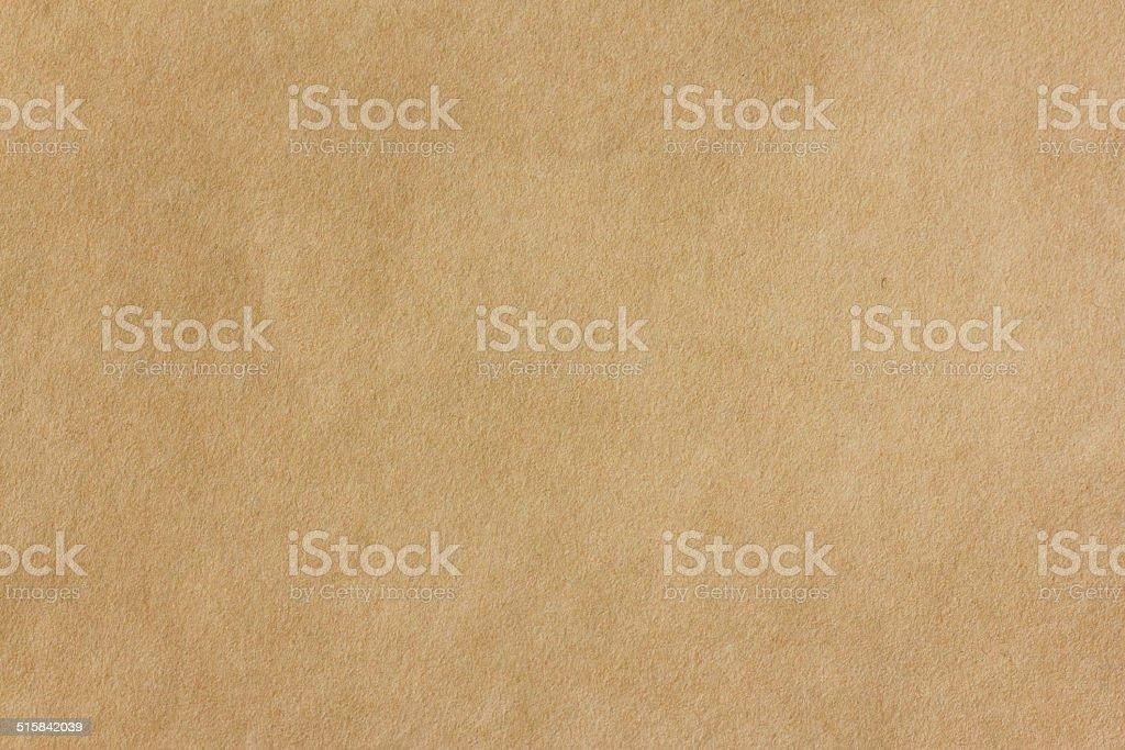Seamless yellow Kraft Paper, background stock photo