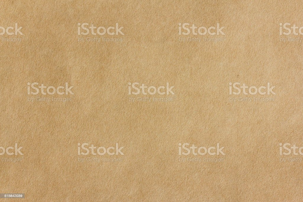 Seamless yellow Kraft Paper, background stock photo