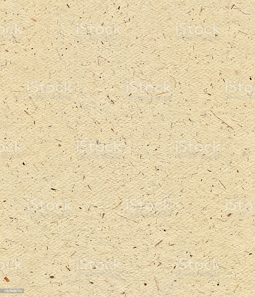 Seamless yellow textured paper background stock photo