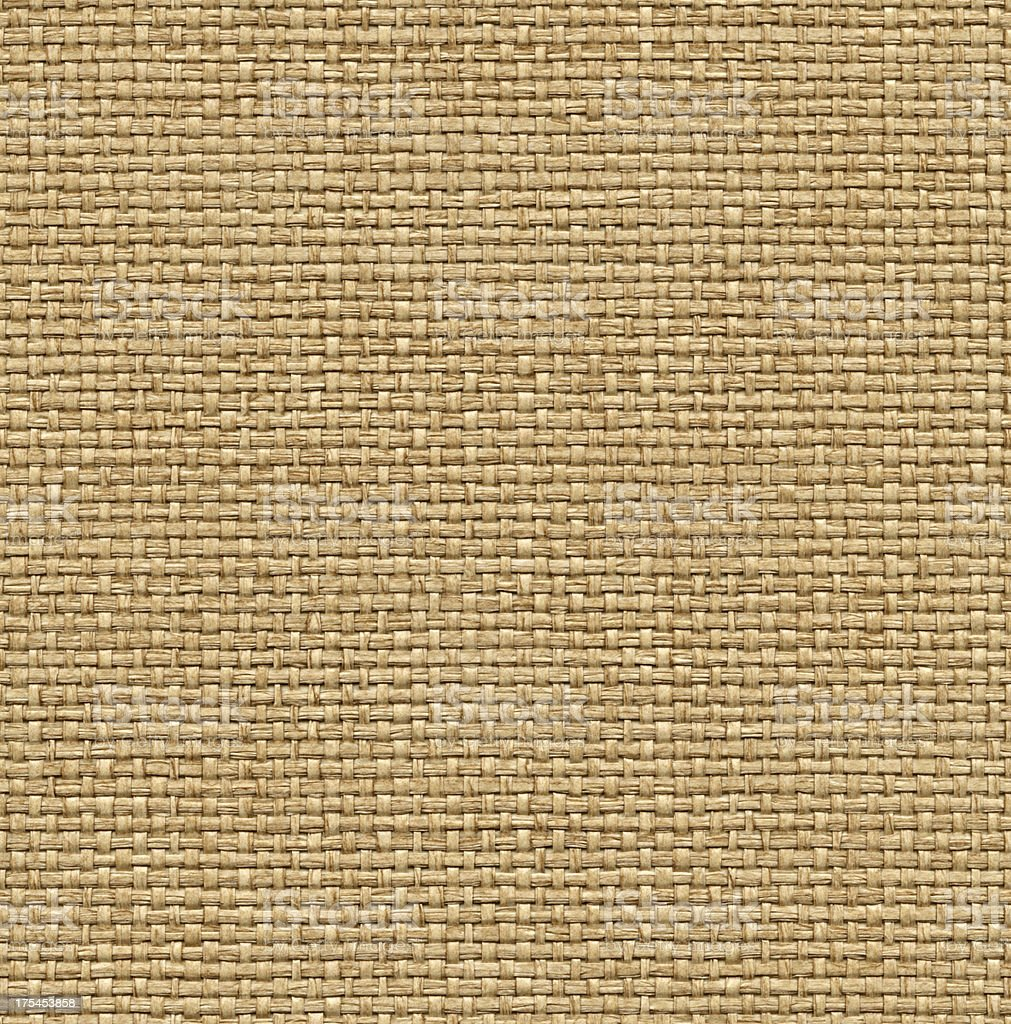 Seamless yellow wicker background royalty-free stock photo